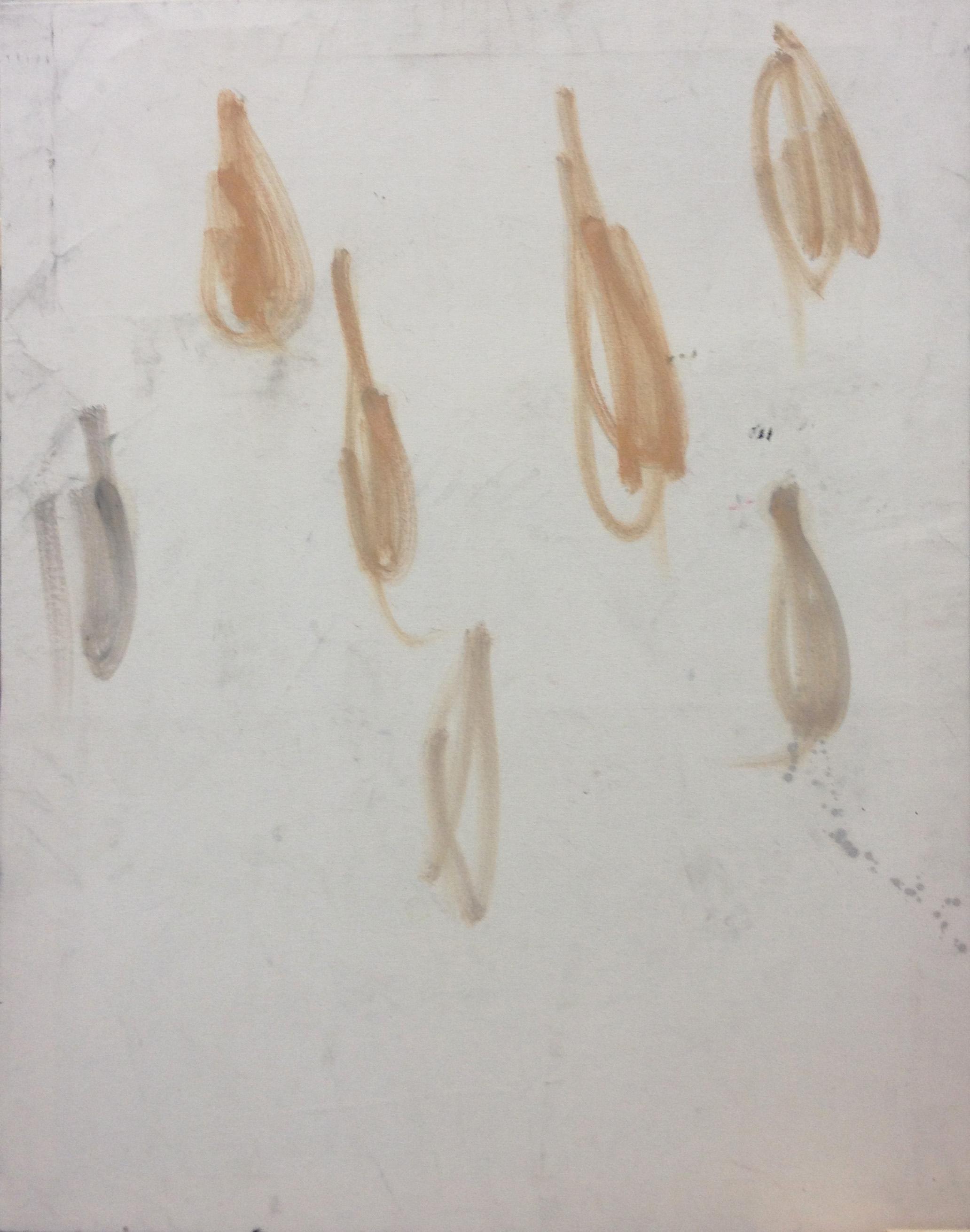 Fleischtropfen, Öl auf Leinwand, 2015